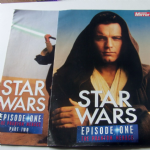 "Star Wars Episode 1 ""The Phantom Menace"" Sunday Mirror Magazines pt 1 & 2"